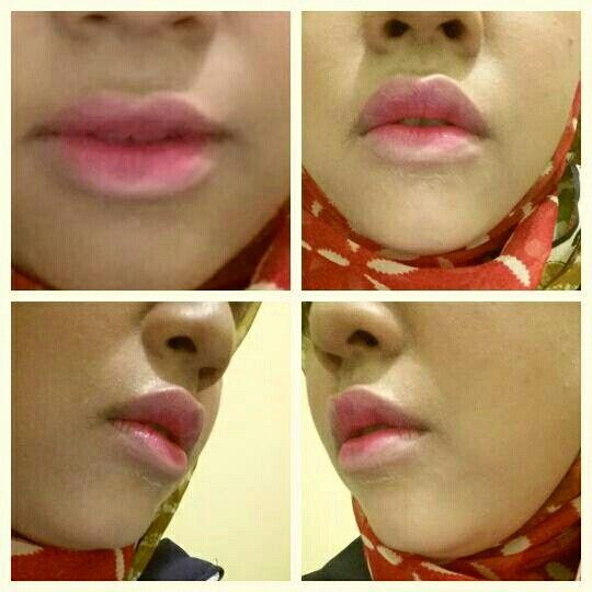 Ombre lips korea noona yoona  I Love it.