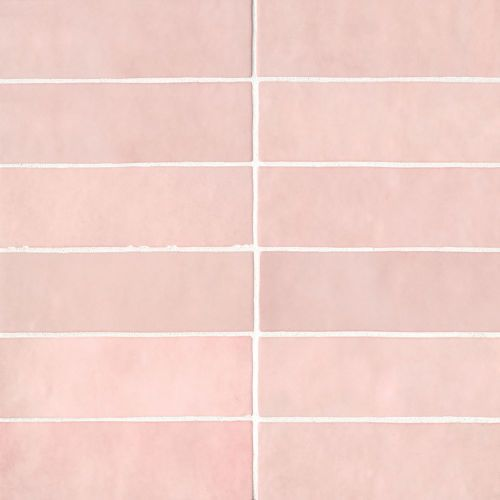 Cloe 2 5 X 8 Wall Tile In Pink Ceramic Subway Tile Subway Tile Wall Tiles