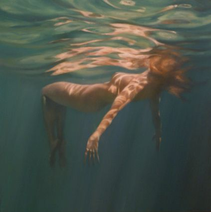 Martine Emdur, Diaphne, 2010, oil on linen, Tim Olsen Gallery- i want this on my wall...