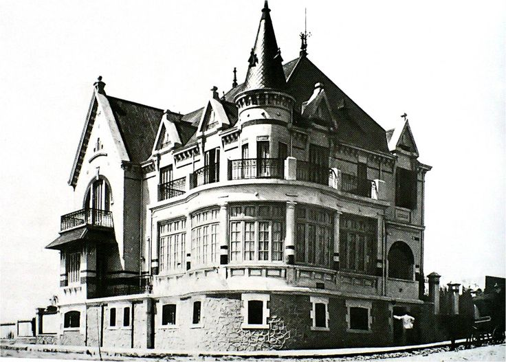 Residencia veraniega de la familia Cantilo 1907 Mar del Plata Prov. de Bs. As.