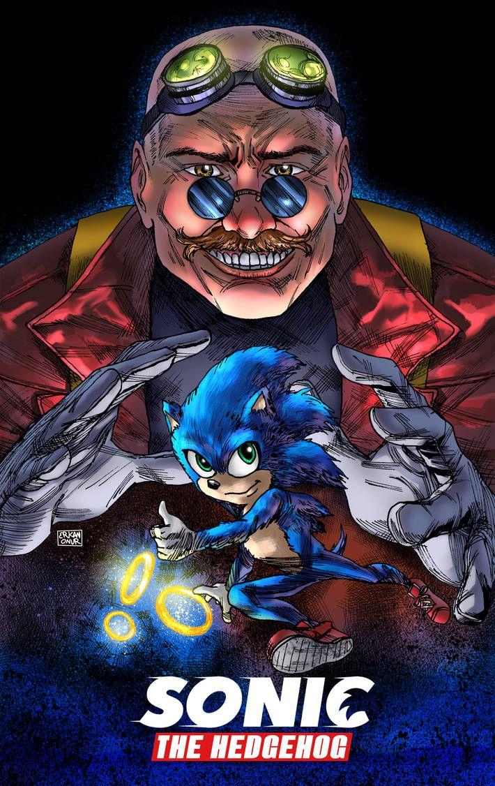 Sonic The Hedgehog Movie Eggman Drawing