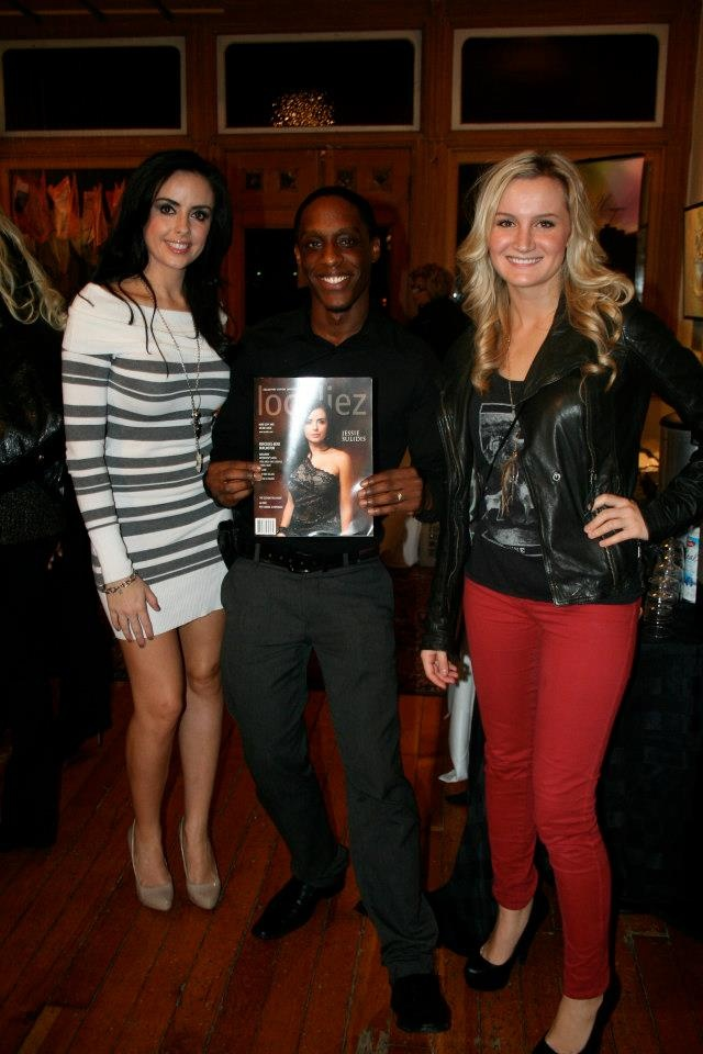 Daniel Lewis with the reality TV star Jessie Sulidis from season 6 of The Bachelorette. (The infamous Jake and Vienna season)    Jessie Sulidis is on the October cover of Toronto's Localiez Magazine.