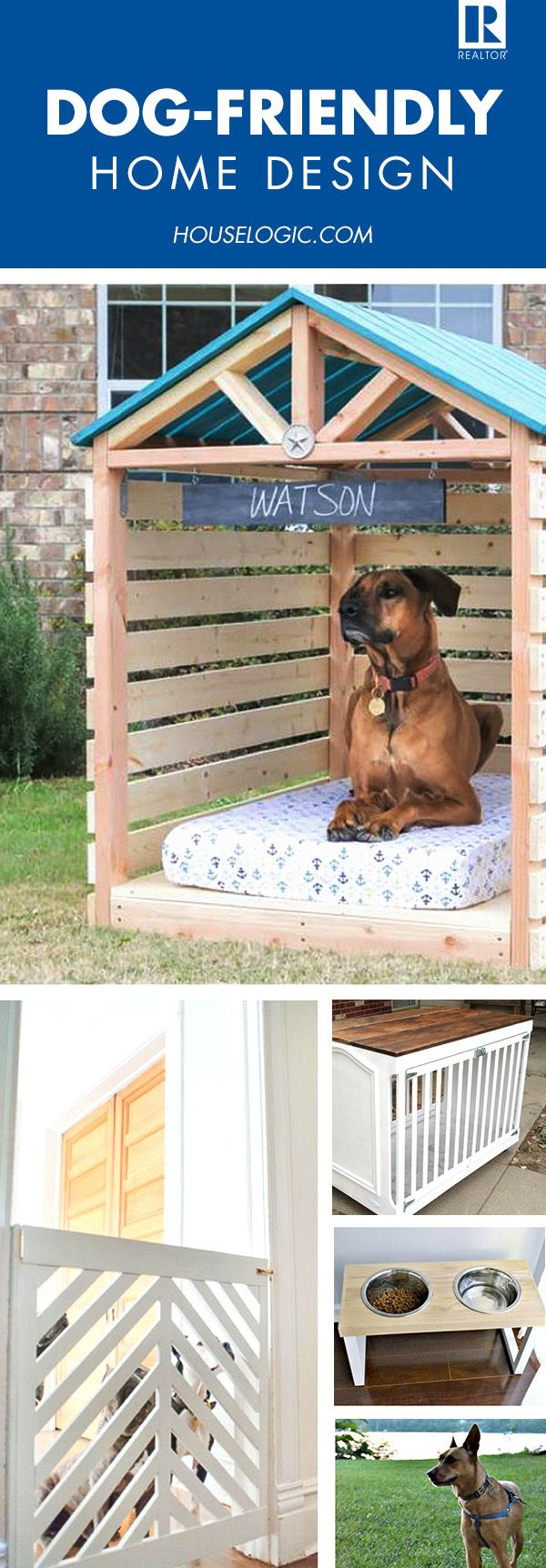 4 Ways To Make Fido Happy In Your New Home Dog House Diy Diy Dog Stuff Dog Houses [ 1724 x 600 Pixel ]