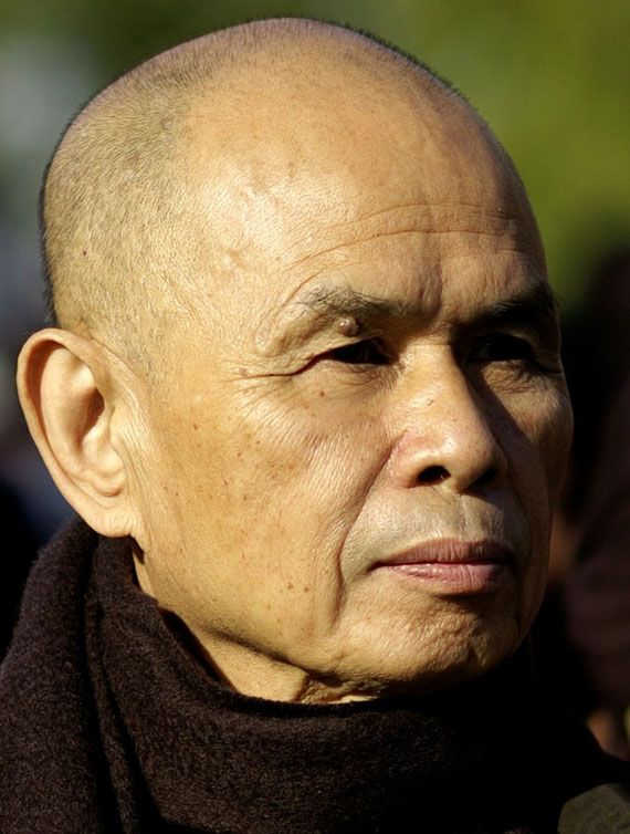 Prayers & positive healing thoughts for Vietnamese Zen Master,Thich Nhat Hanh (monk, poet, peace activist, scholar who accepted all Buddhist tradition, but also the teachings of Jesus Christ) was hospitalized 11 Nov. 2014 for severe brain hemhorrage. http://www.tricycle.com/blog/thich-nhat-hanh-hospitalized-severe-brain-hemorrhage in Bordeaux, France.