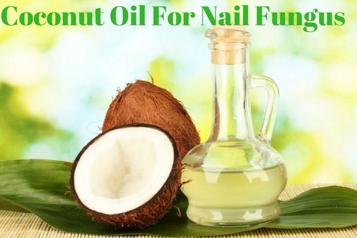 Coconut Oil for nail infection