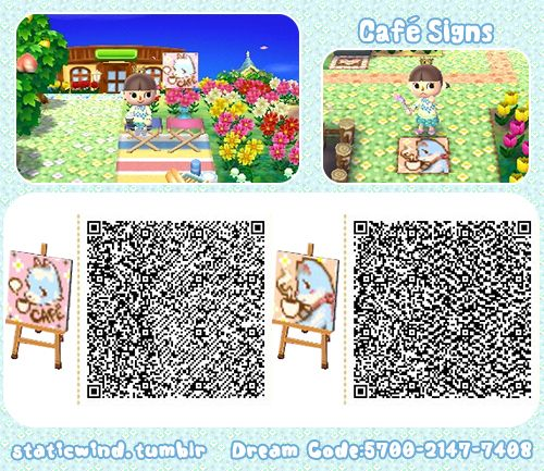 Staticwind More Patterns Animal Crossing Signs Qr