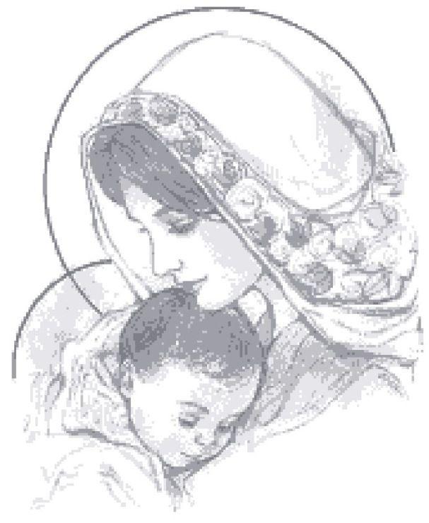 Gallery.ru / Фото #1 - Мадонна с младенцем - jatsinaira