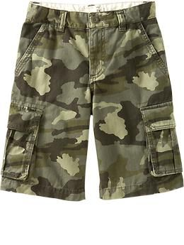 Boys Authentic Cargo Shorts | Old Navy