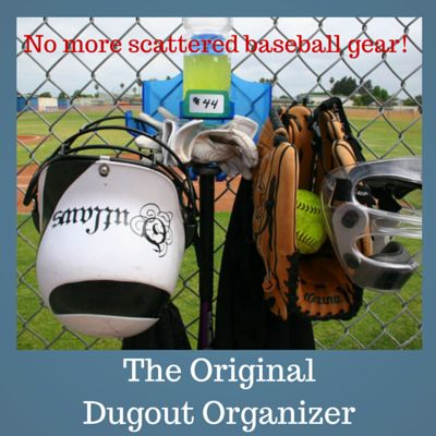 As a baseball mom are you tired of lost or damaged baseball gear? There is a solution. The Baseball Dugout Organizer. No more dugout disarray. Take a look. http://grandkidgalaxy.com/baseball-dugout-organizer/