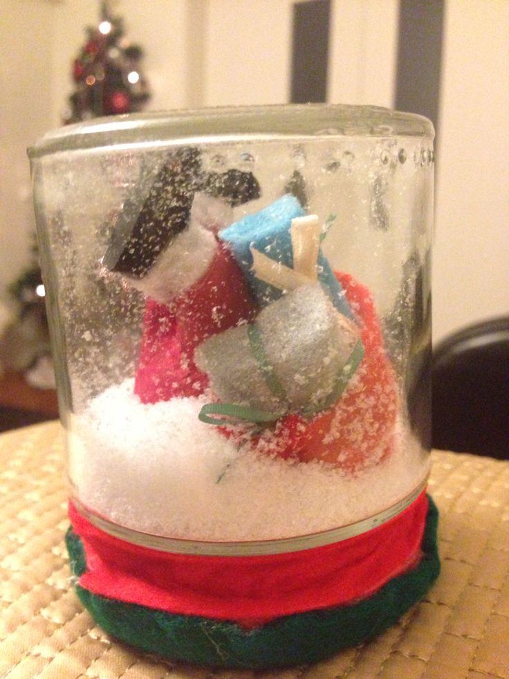 Pai Natal Globo de neve