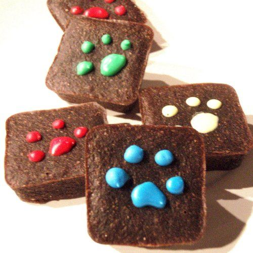 Pawlishious Brownies - Carob Dog Treats All Natural Organic Vegetarian... | VeryVintage - Pets on ArtFire