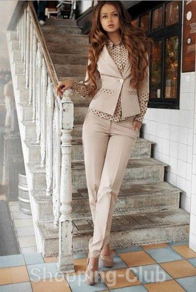 Женский брючный костюм ФМ-ЖК-17-О от компании Shopping-Club