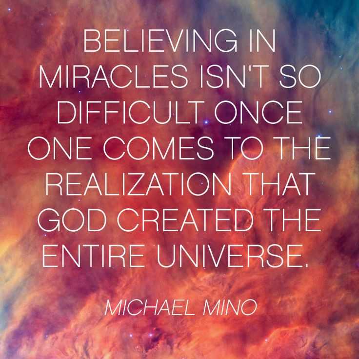 Gods Miracles Quotes: 1000+ Miracle Quotes On Pinterest