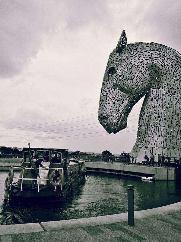 The Kelpies and the Canal Boat (which you can sail on) Tour.
