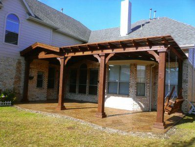 Texas Covered Patio Ideas | PATIO COVER PORTFOLIO Plano, Texas   American  Outdoor Patio Covers