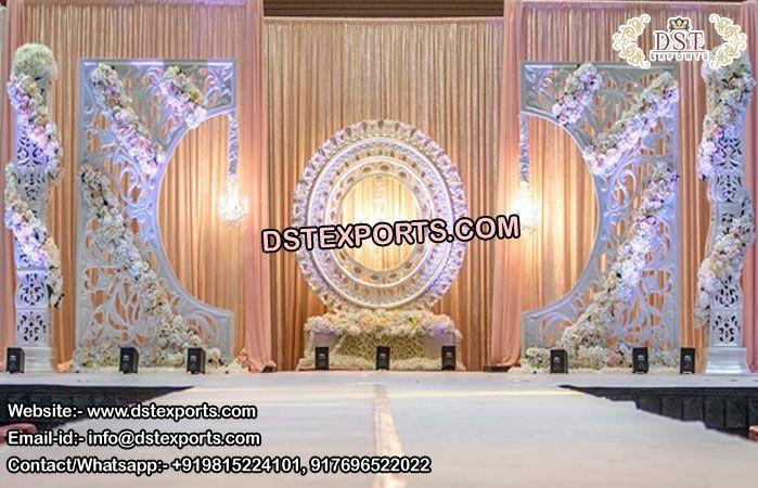 Prominent Asian Wedding Stage Back Frames London Mexico Laswegas Uae New Zealand Switzerland Wedding Backdrop Decorations Backdrop Frame Deco Paint