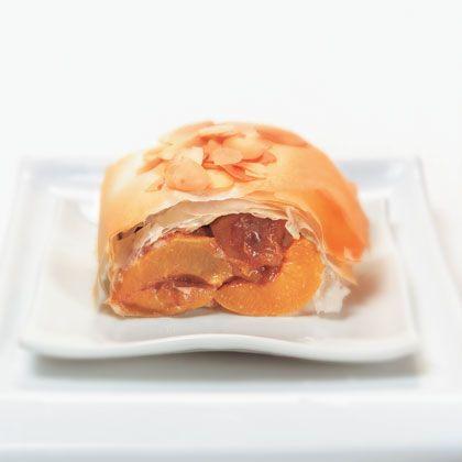 Image of apricot strudel