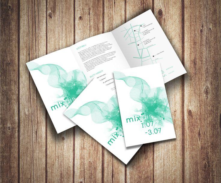 Mixair - art & music festival   https://www.behance.net/gallery/54286505/Mixair-art-music-festival