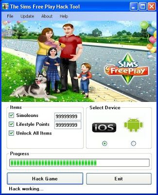 the sims hack tools online generator