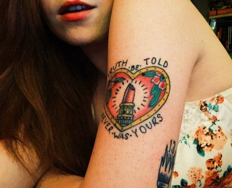 Panic At The Disco Lyric Tattoo This Is Gospel