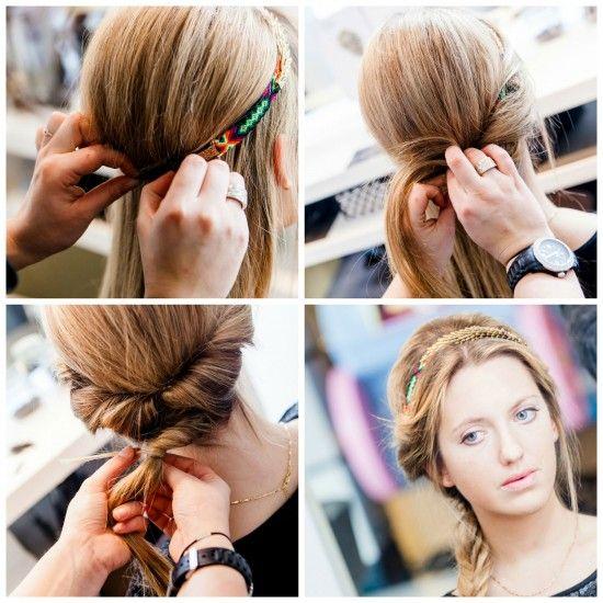 Romantische kapsel via Flair.be (http://www.flair.be/nl/kapsels/276992/headbands-ook-deze-zomer-onmisbaar)