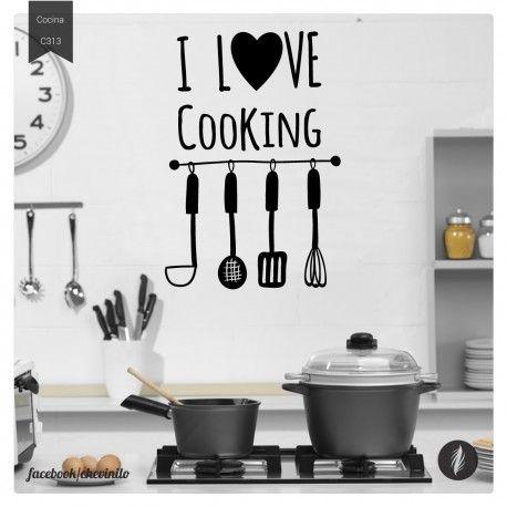 Vinilos Decorativos / Cocina love