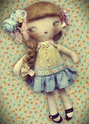 Muñecas de trapo Laliblue