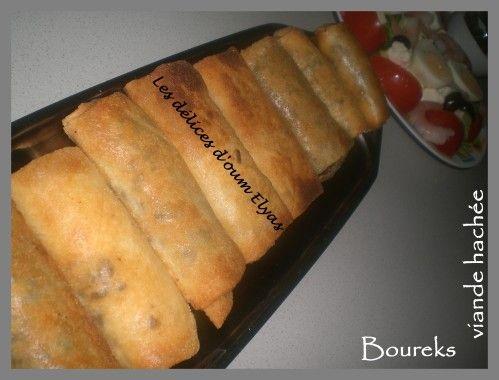 Salam arlikoum / Bonjour Pour accompagner un bon bol de soupe bien chaude, les Boureks ou Bricks sont souvent à l'honneur pendant le mois sacré. Les farces il en existe pour tous les goûts, à la viande rouge, au poulet, au thon, aux crevettes, version...