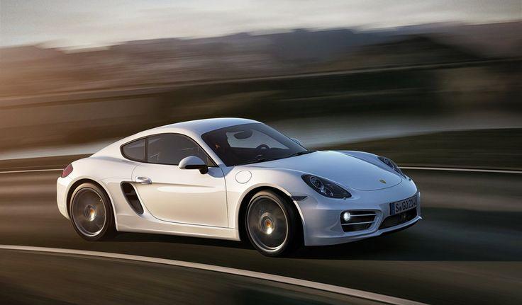 White Porsche Cayman 2014. Luxury, amazing, fast, dream, beautiful,awesome, expensive, exclusive car. Coche blanco lujoso, increible, rápido, guapo, fantástico, caro, exclusivo.