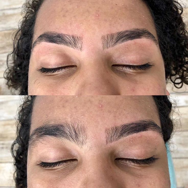 Before and After a Eyebrow Design …, #design #d…