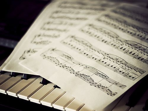 Music and piano