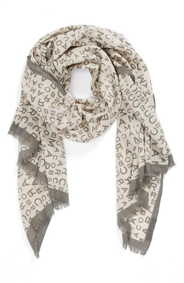Spell it out: MARC BY MARC JACOBS Scarf