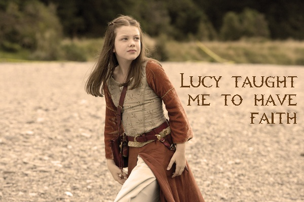 Lucy from The Chronicles of Narnia