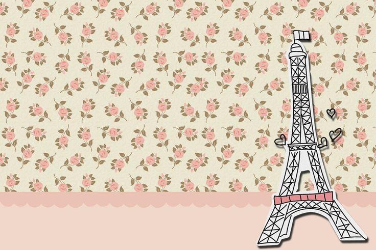 Original Libreta Mágica Para Raspar Dibujar Y Escribir: París Con Rosas: Invitaciones Para Imprimir Gratis