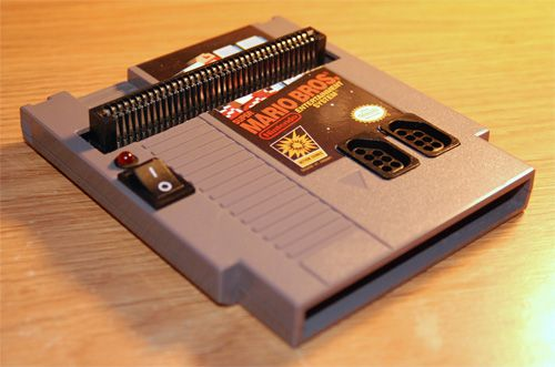 Yo dawg I heard you like NES so we put an NES in an NES so you can play Nintendo while you play Nintendo.  This is too awesome.