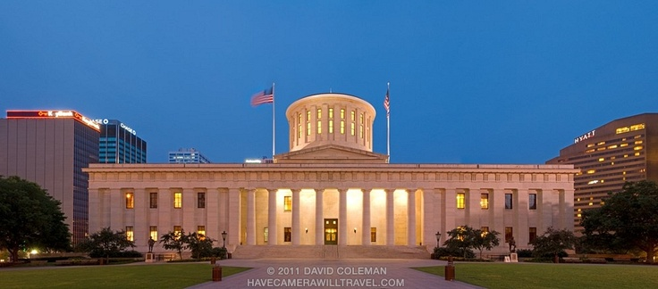 17 best images about fifty state capital buildings on for Columbus capitale