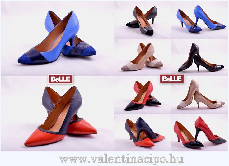 BeLLE lábbelik különleges megjelenést és egyediséget képviselnek a mai hazai cipőkínálatban. Akik szeretnek kitűnni a tömegből vagy szeretik, ha a figyelem rájuk irányul azoknak a legjobb döntés lehet egy BeLLE cipő. A BeLLE cipők gyártása során használt alapanyagok minősége kiemelkedik, így garantáltan elégedett lesz ezzel a lábbelivel. A Valentina Cipőboltok & Webáruházban a legnagyobb Belle cipőkínálatból, kedvére válogathat! http://valentinacipo.hu
