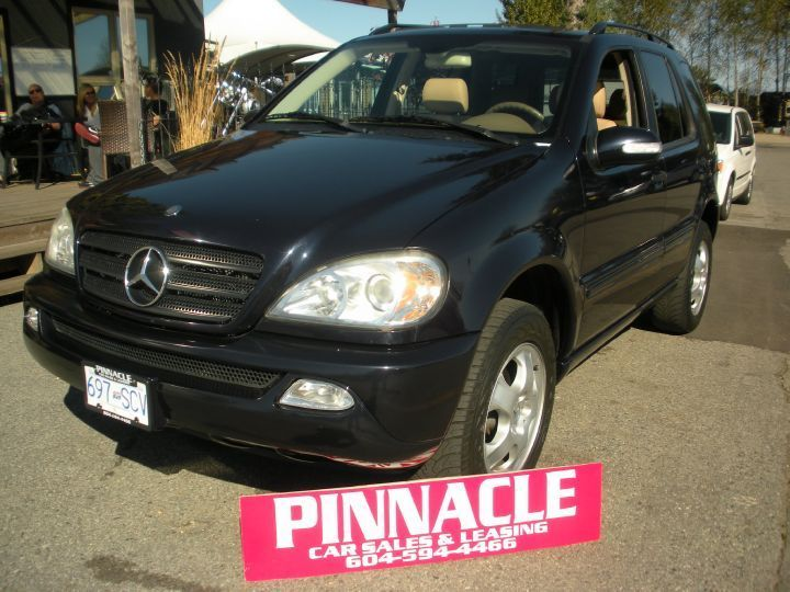 Looking for Used Car in British Columbia. Get 2004 Mercedes-Benz ML 350