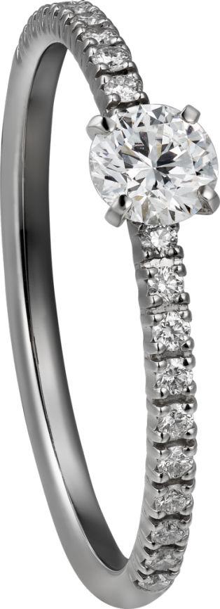 Etincelle de Cartier ring Platinum, diamonds