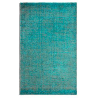 Debenhams Green wool 'Ocean' rug- at Debenhams.com