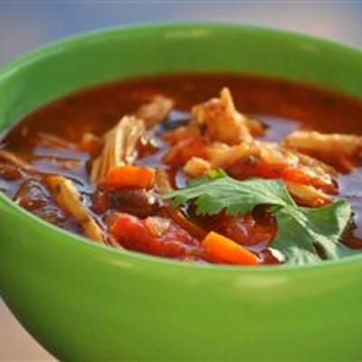 Catherine's Spicy Chicken Soup | Foodie | Pinterest