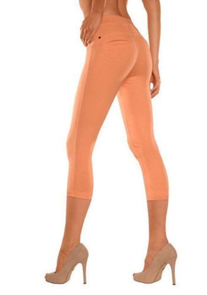 Bequem und supersexy! Buffalo Leggings im Jeans look in Orang Größe 32/34 NEU | eBay