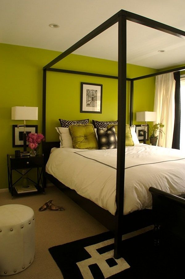 Black And White And Green Bedroom 90 best my dream green bedroom images on pinterest | bedroom