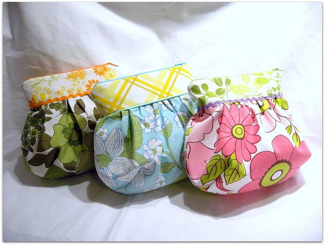 Round and puffy beauties in vintage fabrics | Flickr - Photo Sharing!