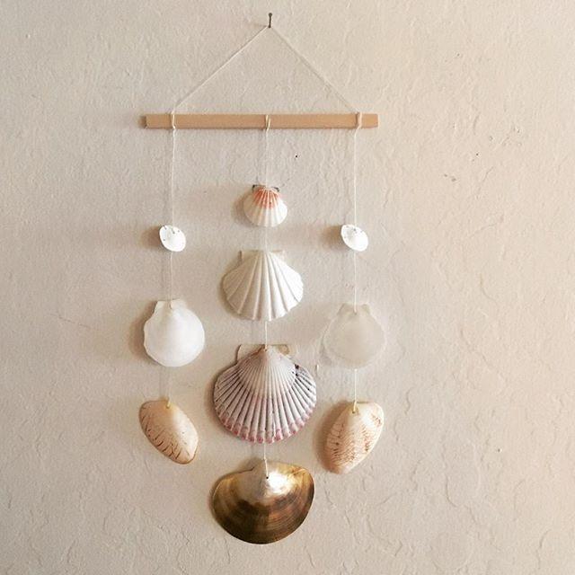 Diy Seashell Wall Hanging Shell Crafts Kids Wall Hanging Diy Beach Signs Diy