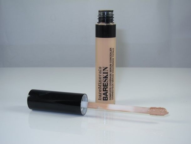 Bare Minerals Bare Skin Complete Coverage Serum Concealer ($20) is a new, permanent serum concealer which promises high coverage in an ultra light formula