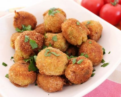 Κολοκυθοκεφτέδες+με+φέτα+στο+φούρνο