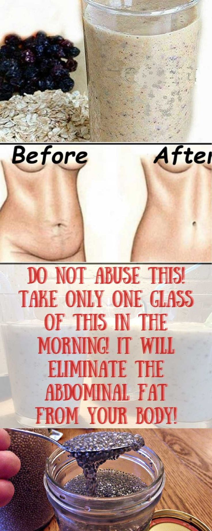 /DO NOT ABUSE THIS! TAKE ONLY ONE GLASS OF THIS IN THE MORNING! IT WILL ELIMINATE THE ABDOMINAL FAT FROM YOUR BODY!///