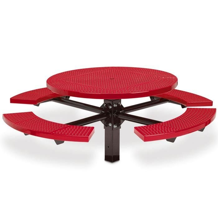 Upbeat Offers A Variety Of Commercial Round Picnic Tables For Your Site  Furnishing Needs. Shop Our Selection Of Outdoor Round Picnic Tables And  Place Your ...