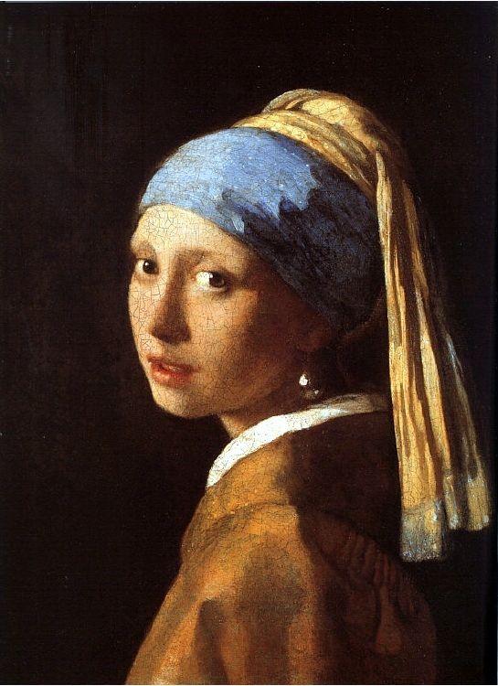 얀 베르메르, 소녀
